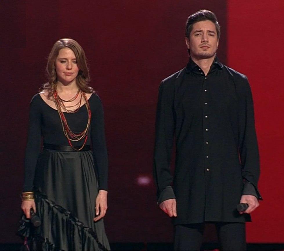 Голос 6 сезон Полуфинал 22 декабря 2017 Лора Горбунова и Селим Алахяров
