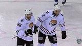 Моменты из матчей КХЛ сезона 1718 Гол. 12. Камалов Никита (Амур) добил в ближний угол 25.11