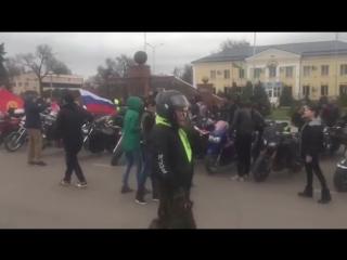 Сбор колонны на открытии в городе Шу, Казахстан #rbmcckz #moto #club #bikers #openseason #motoseason #shu #kazakstan @ liberty_m
