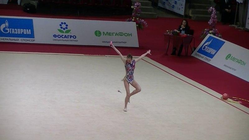 Kamenshchikova Anna (BLR) clubs Moscow YOG Qualification 2018
