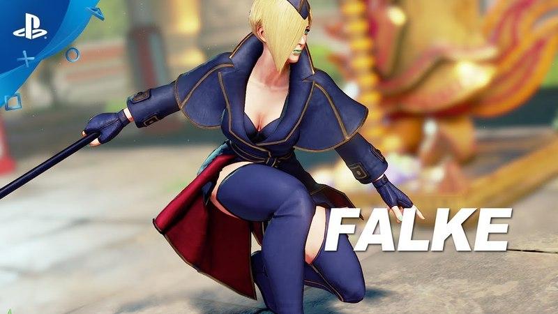 Street Fighter V: Arcade Edition – Falke Gameplay Trailer | PS4