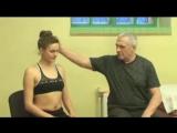 Простой комплекс упражнений при шейном и грудном остеохондрозе. ЛФК для шейного