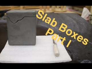 Hard Slab Boxes Part I pottery I 2017