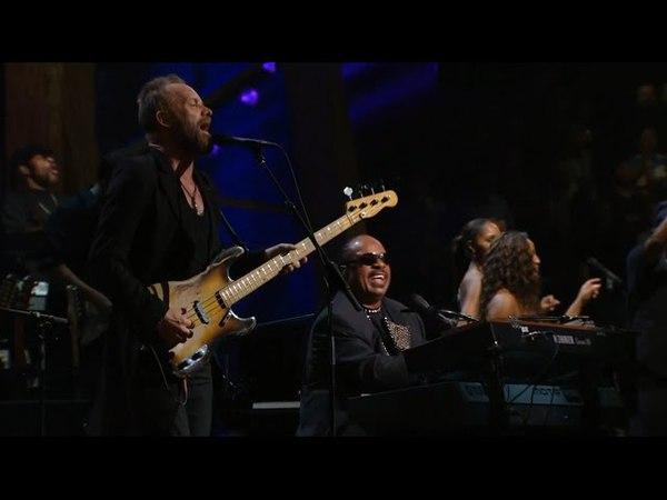 Stevie Wonder and Sting - Higher Ground / Roxanne (live 2009)