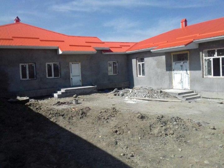 В Марухе полным ходом идет реконструкция детского сада