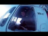 Работа вертолёта Ми-8 Второго Архангельского Авиаотряда.