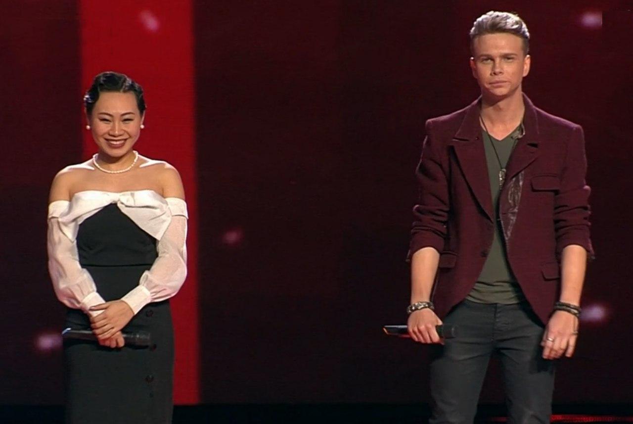 Голос 6 сезон Полуфинал 22 декабря 2017 Ян Гэ и Данил Буранов