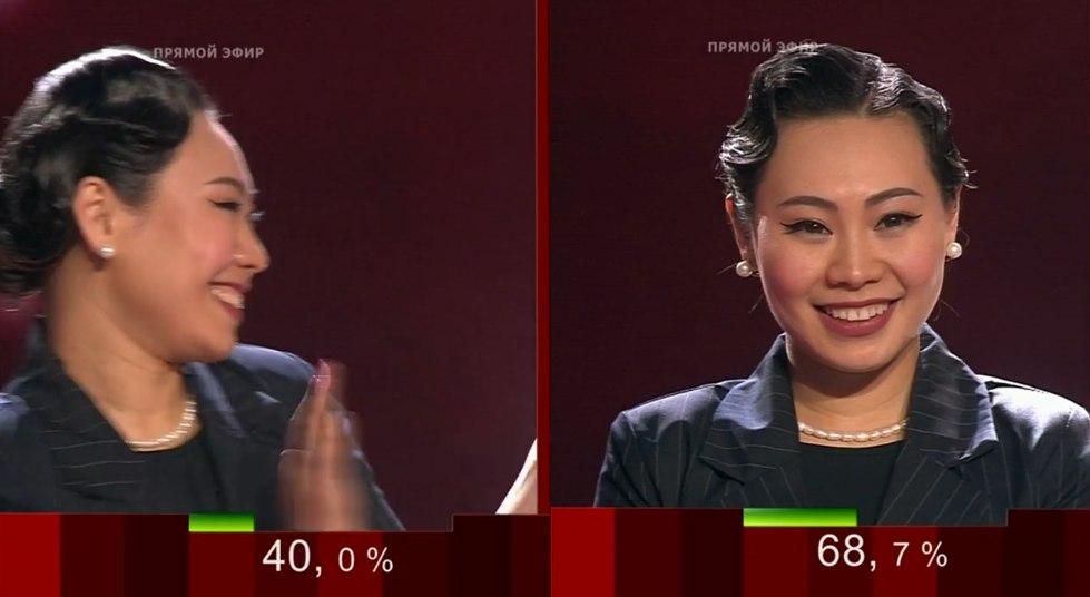Финалистка шоу Голос 6 сезон Ян Гэ