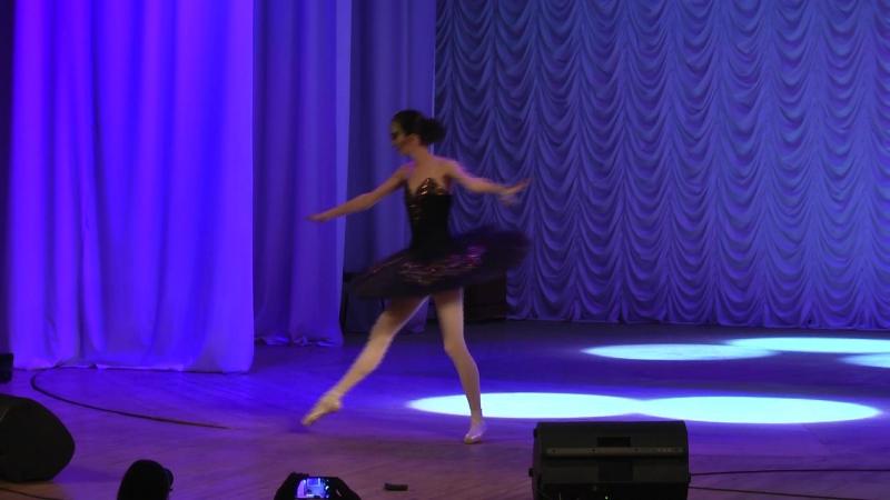 Директор школы танцев Елены Струльниковой в роли чёрного лебедя Натали Портман 28 января 2018г