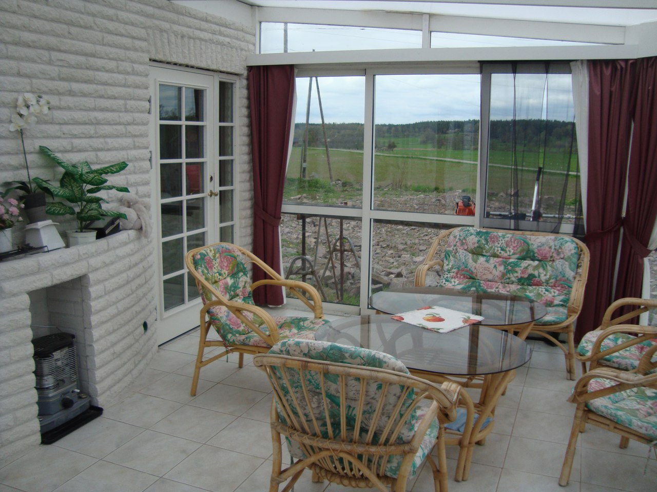 шторы с мухами