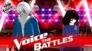 The Voice 2017 Battle - Sans vs Frisk Faded x Closer Mashup