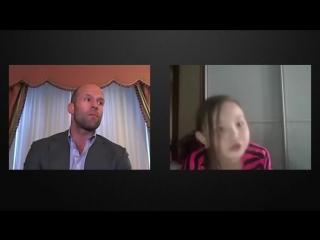 Джейсон Стэтхэм в видеочате Часть 2 Jason Statham