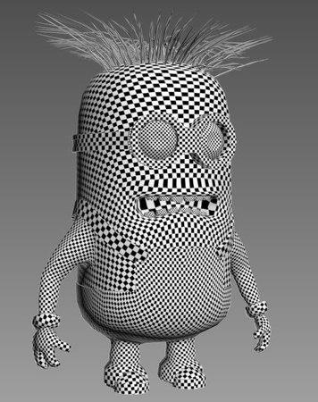 3Ds Max Minions 8 Unwrapping The Entire Minion