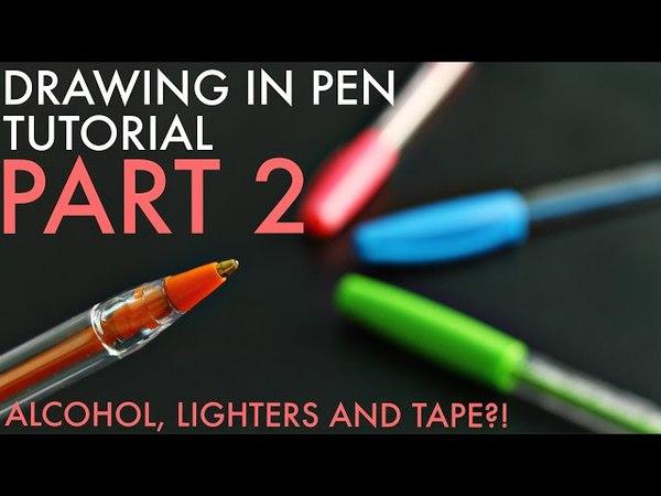 Ballpoint Pen Art Additional Materials