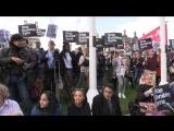 Протесты в США и Великобритании против ударов по Сирии