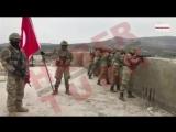 В центре Раджо взвесили Турецкий флаг
