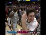 LeBron James game winner shot?