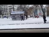 Севастополь: поездка по заснеженному городу