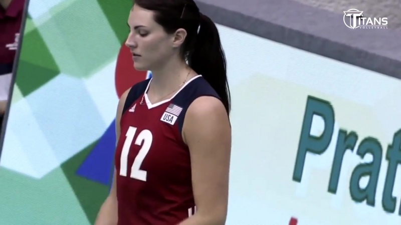 Top 20 Best Volleyball Spikes by Kelly Murphy - World Grand Prix 2017 - USA Volleyball