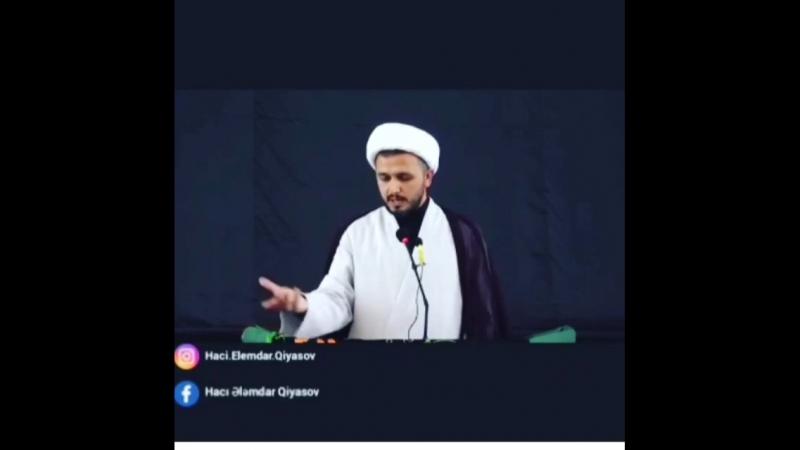 Hacı Ələmdar-Kim desə imam Hüseyn ölüb!