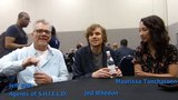 Marvel's Agents of SHIELD WonderCon - Jed Whedon, Maurissa Tancharoen-Whedon, &amp Jeff Bell