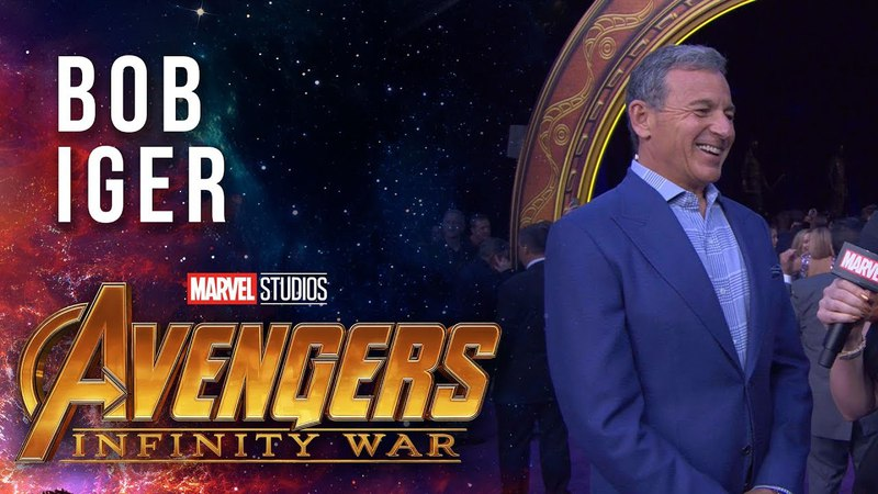 Disney Chairman and CEO Bob Iger Live at the Avengers: Infinity War Premiere