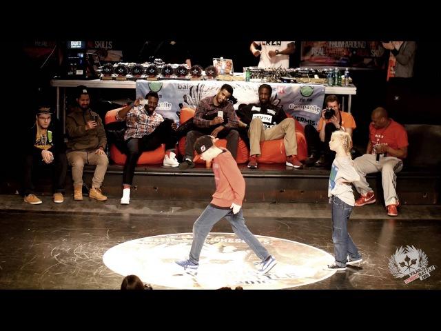 Hip Hop Kids 1vs1 Gustas vs Liepa @Vilnius Street Battle 2016