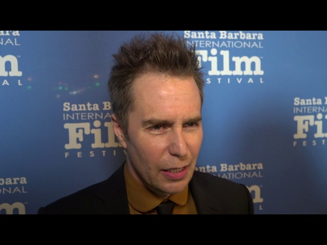 SBIFF 2018 Sam Rockwell American Riviera Award Red Carpet Interview