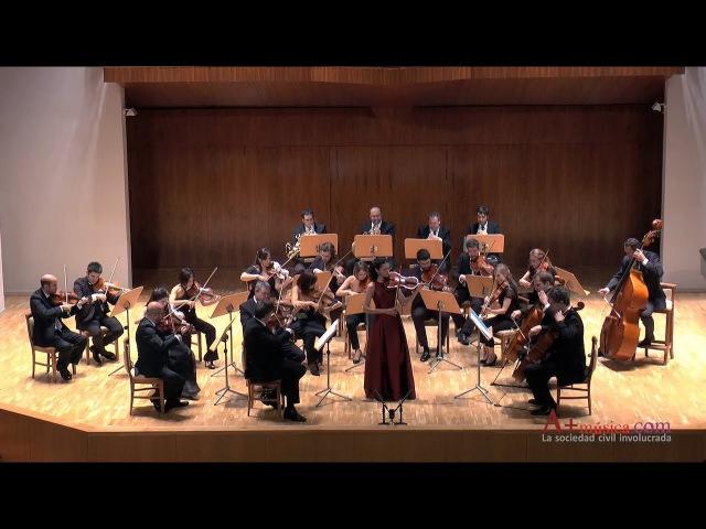 HOFFMEISTER D Major Viola Concerto (I) - Cristina Cordero