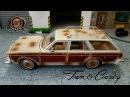 Масштабная модель автомобиля Chrysler LeBaron Town Country 1979 1 24 Motor Max