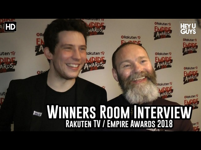 Josh O'Connor Francis Lee on God's Own Country Empire Awards 2018 Winners Room Interview