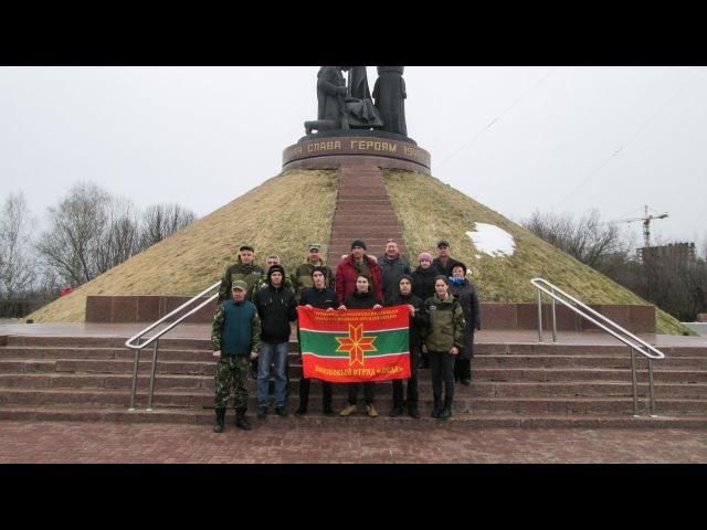 Вахта Памяти - 2017. Чебоксары. 24 апреля 2017