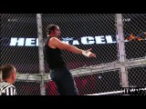Dean Ambrose vs Seth Rollins Highlights HD Hell In a Cell 2014