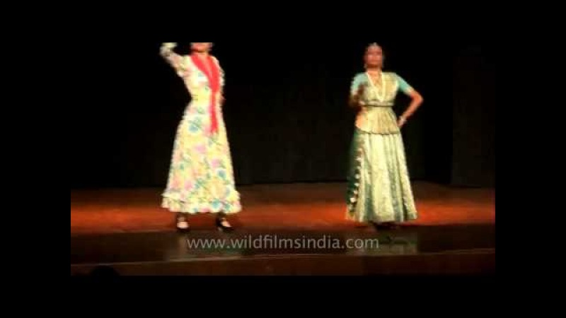 Dance comparison between Kathak from India and Flamenco from Spain