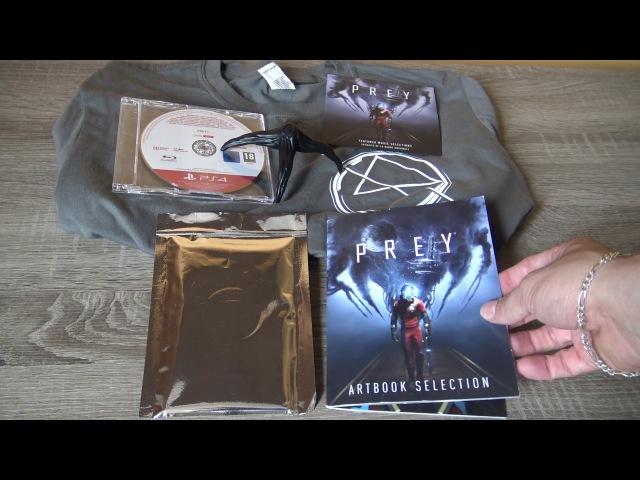 Prey: Notre Déballage Unboxing Press Kit Collector sur PS4 FR (N-Gamz)