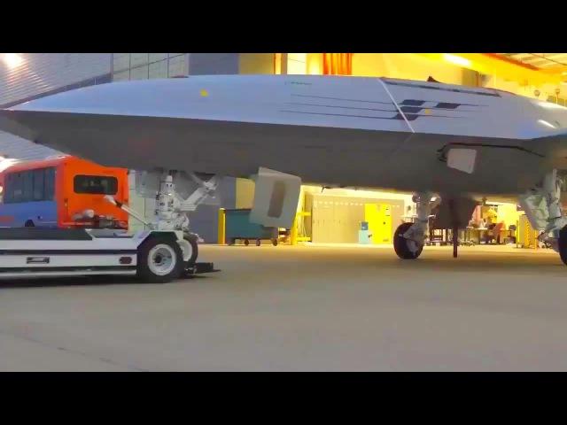 Boeing - MQ-25 Stingray UAS Tanker Unveiled [720p]