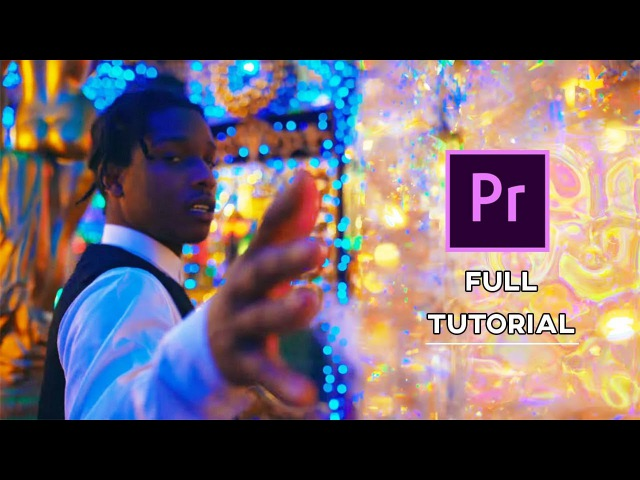 How to make a trippy ASAP ROCKY type MUSIC VIDEO (Full L$D Tutorial)