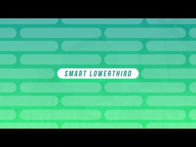 Lowerthird Inteligente - Tutorial After Effects [Español]
