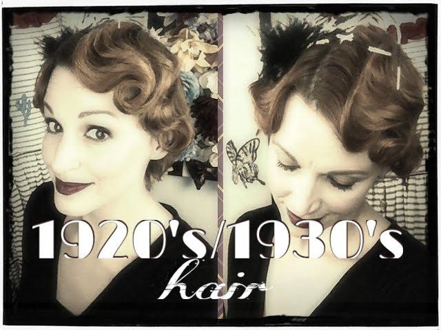 Faux Finger Waving- 1920s1930s Hair Tutorial