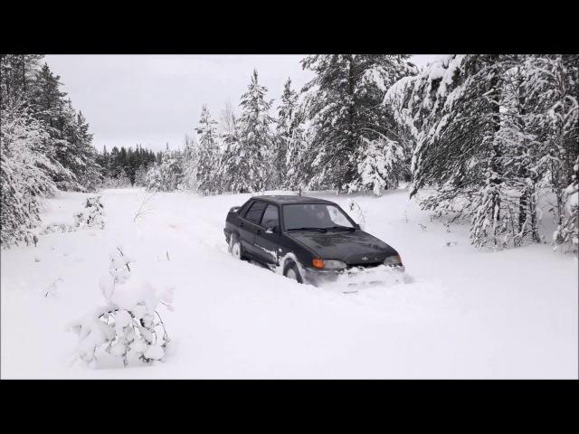 Samara 2115 мокрый снег