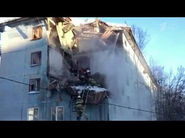 Впятиэтажке наокраине Мурманска произошел взрыв газа