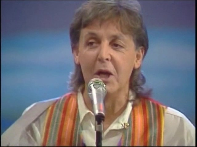 Paul McCartney – Hope Of Deliverance (Thursday 21st January 1993) Live At Wetten, dass, Germany