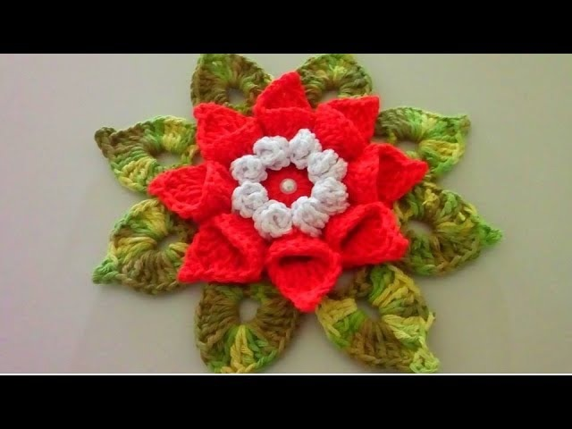 Descubra como é feito Flor em Crochê - Caracol Iza