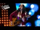 Laura Mazo canta Besándote Audiciones a ciegas La Voz Kids Colombia 2018