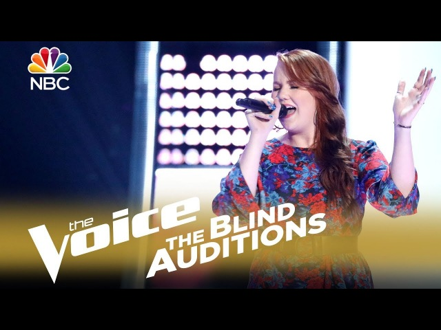 The Voice 2018 Blind Audition - Hannah Goebel: If I Ain't Got You