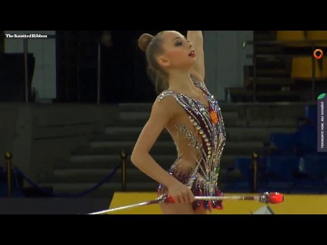 Polina Orlova clubs EF 2018 Kiev Deriugina Grand Prix