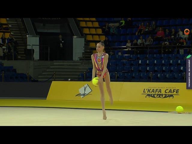 Daria Trubnikova - Ball Final - Deriugina Cup