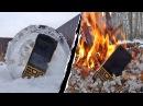 Экстремальные тесты противоударного телефона Land Rover N2