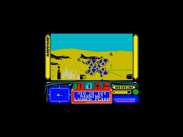 Operation Hormuz (1989) Walkthrough Review, ZX Spectrum