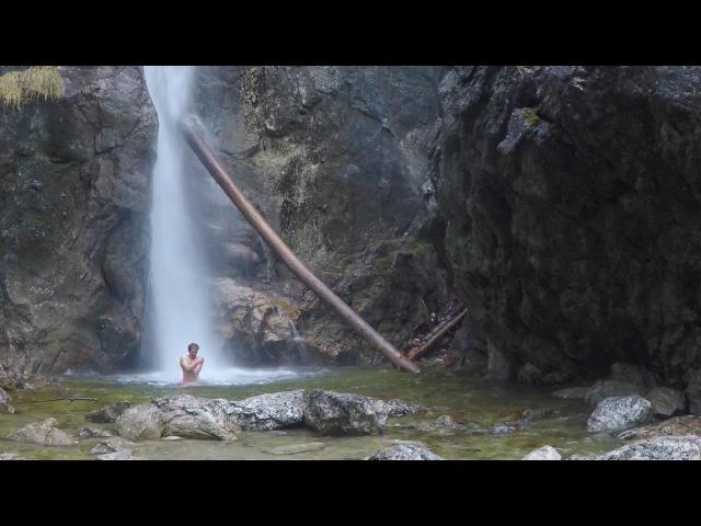 Lainbachfall - Oberer Wasserfall Christmas 2018
